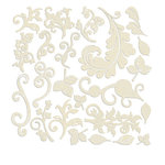 Prima - Resist Canvas - Shapes - Swirls