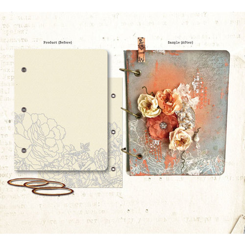 Prima - Mixed Media Album - Book Covers - One
