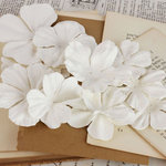 Prima - Puccini Collection - Resist Flower Embellishments - Mix 4