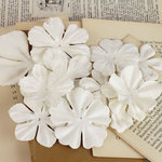 Prima - Puccini Collection - Resist Flower Embellishments - Mix 5