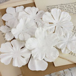 Prima - Puccini Collection - Resist Flower Embellishments - Mix 6