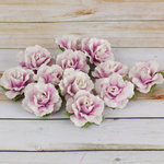 Prima - Encore Collection - Paper Flower Embellishments - Lavender