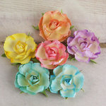 Prima - Prelude Collection - Flower Embellishments - Summer Mix