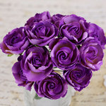 Prima - Soprano Collection - Flower Embellishments - Purple