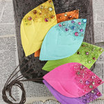 Prima - Spotlight Collection - Leaves Embellishments - Summer Bright