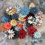 Prima - Silentium Collection - Flower Embellishments - Craftsman