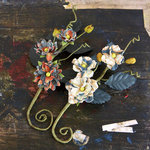 Prima - Bosque Collection - Flower Embellishments - Craftsman