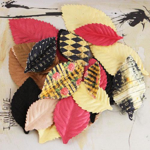 Prima - Plume Collection - Leaves Embellishments - Romance Novel