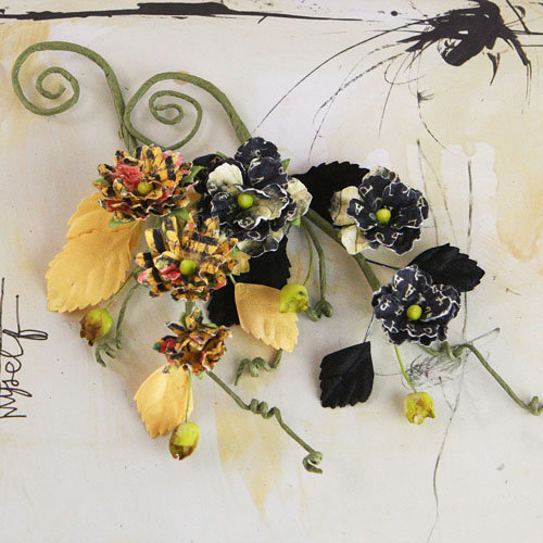 Prima - Bosque Collection - Flower Embellishments - Romance Novel