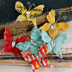 Prima - Papillons Collection - Butterfly Embellishments - Welcome to Paris