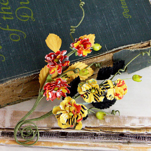 Prima - Bosque Collection - Flower Embellishments - Welcome to Paris