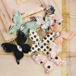 Prima - Papillons Collection - Butterfly Embellishments - Rondelle