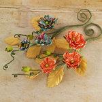 Prima - Bosque Collection - Flower Embellishments - Zephyr