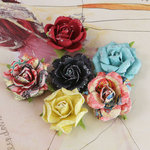 Prima - Timido Collection - Flower Embellishments - Rosarian