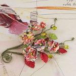 Prima - Bosque Collection - Flower Embellishments - Rosarian