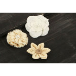 Prima - Tessitura Collection - Fabric and Paper Flower Embellishments - Mix 2