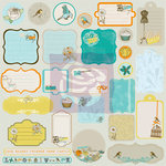 Prima - Lady Bird Collection - Self Adhesive Chipboard Pieces