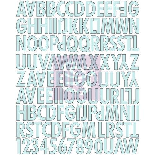 Prima - Divine Collection - Canvas Alphabet Stickers - Uppercase