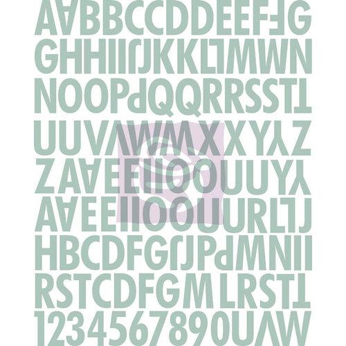 Prima - Lifetime Collection - Canvas Alphabet Stickers - Uppercase