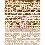 Prima - Lifetime Collection - Canvas Alphabet Stickers