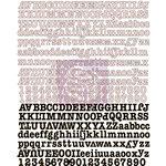 Prima - Lyric Collection - Canvas Alphabet Stickers