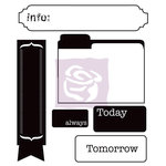 Prima - Engraver Collection - Clear Acrylic Stamps - Three