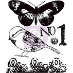 Prima - Lyric Collection - Clear Acrylic Stamps - Two