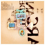 Prima - Lady Bird Collection - Vintage Trinkets
