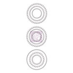 Prima - Say It In Crystals Collection - Self Adhesive Jewel Art - Bling - Circles - Iridescent