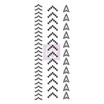 Prima - Say It In Crystals Collection - Self Adhesive Jewel Art - Bling - Arrowhead - Black