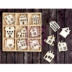 Prima - Wood Icons in a Box - Houses and Buildings