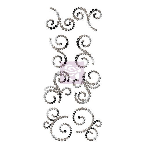 Prima - Say it In Crystals Collection - Bling - Mini Swirls - Engraver