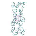Prima - Say it In Crystals Collection - Bling - Mini Swirls - Lady Bird