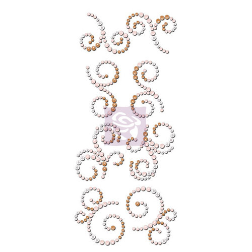 Prima - Say it In Crystals Collection - Bling - Mini Swirls - Lyric
