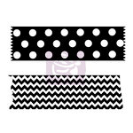 Prima - Wood Mounted Rubber Stamp - Washi Tape - One