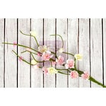Prima - Fairy Rhymes Collection - Flower Embellishments - Solid Flower Vine - Light Pink