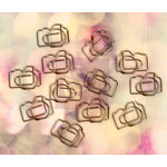 Prima - Hello Pastel Collection - Metal Paper Clips