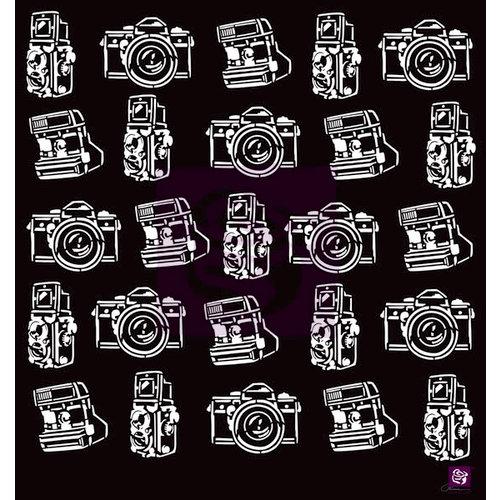 Prima - Stencils Mask Set - 12 x 12 - Cameras