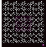Prima - Stencils Mask Set - 12 x 12 - Bicycles
