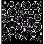 Prima - Stencils Mask Set - 12 x 12 - Clocks