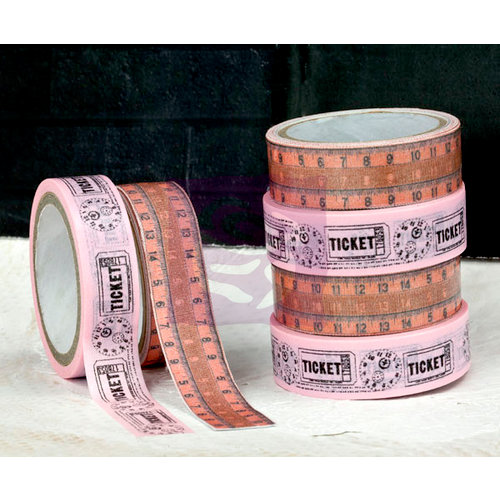 Prima - Lyric Collection - Washi and Fabric Tape