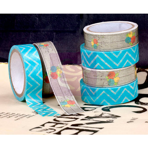 Prima - Lady Bird Collection - Washi and Fabric Tape