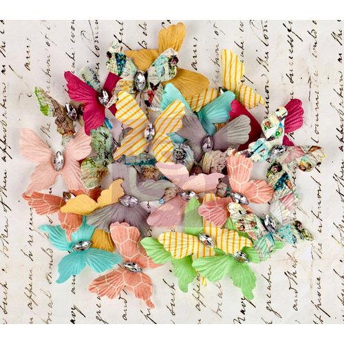 Prima - Divine Collection - Flower Embellishments - Butterflies