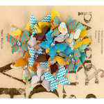 Prima - Lady Bird Collection - Flower Embellishments - Butterflies