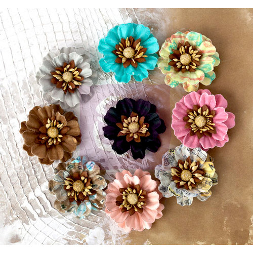 Prima - Lifetime Collection - Flower Embellishments - Daisies