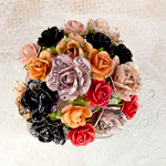 Prima - Lyric Collection - Flower Embellishments - Mini Rose Stems