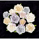 Prima - Frost Collection - Flower Embellishments - Danse Roses