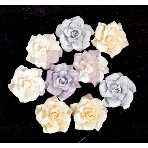 Prima - Frost Collection - Flower Embellishments - Gypsy Roses