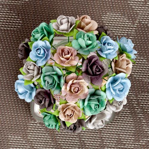 Prima - Mini Sachet Collection - Flower Embellishments - Lakeside