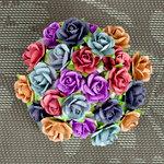 Prima - Mini Sachet Collection - Flower Embellishments - Sunrise